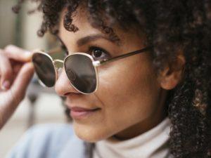 affects of sunglasses